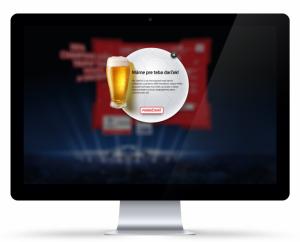 Beer lightbox screen